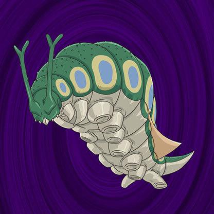 Parasite-caterpillar