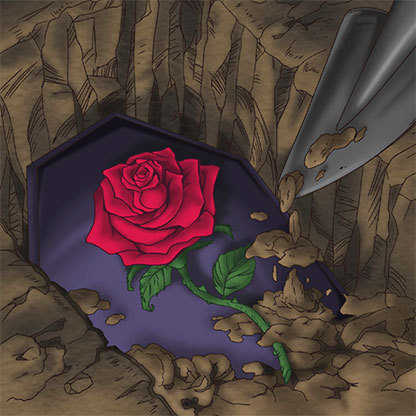 Marionette-burial