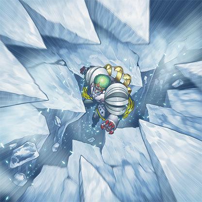 Icy-crevasse