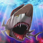 Hyper-Ancient Shark Megalodon
