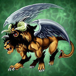 Chimera the Flying Mythical Beast
