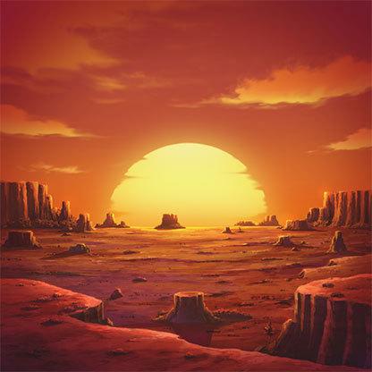 Sunset-showdown