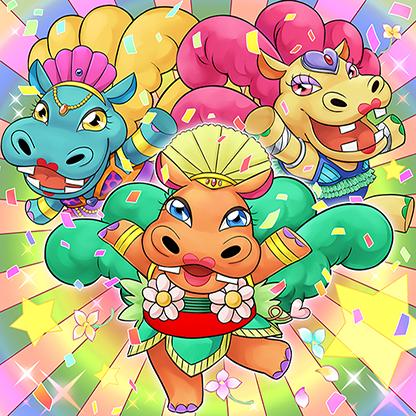 Hippo-carnival